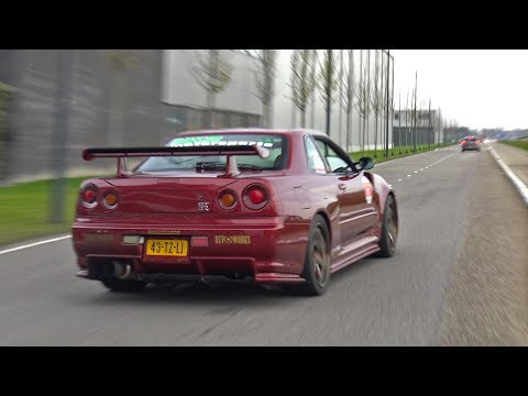 Nissan Skyline R34 GT-R V Spec – Lovely Exhaust Sounds!