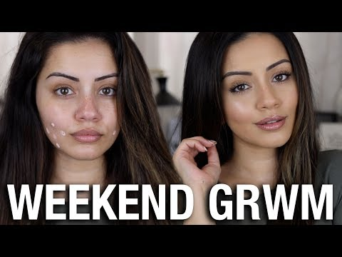 NATURAL GLAM ? WEEKEND GET READY WITH ME