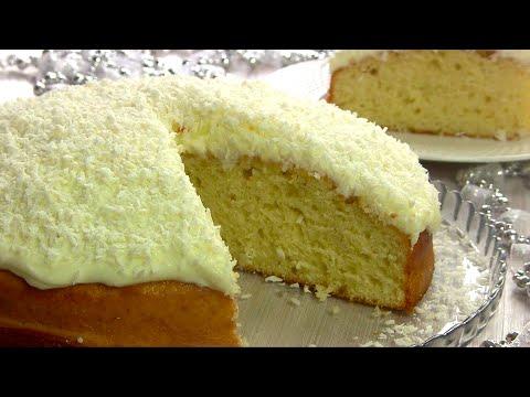 ДОМАШНИЙ Пирог для Зимнего Чаепития!🥧/Нежный КОКОСОВЫЙ Пирог🥥