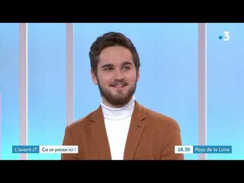 Futuradios au Journal Télévisé de France 3 Pays de la Loire