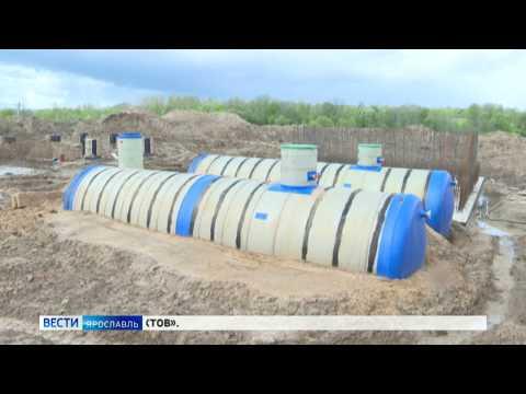 В Большом Селе продолжается строительство новых очистных сооружений водоотведения