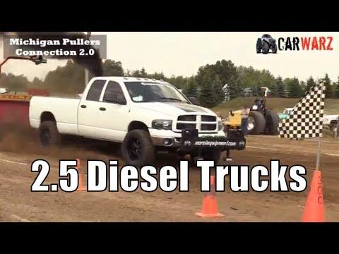 2.5 Diesel Truck Class From TTPA Truck Pulls In Corunna Michigan 2018