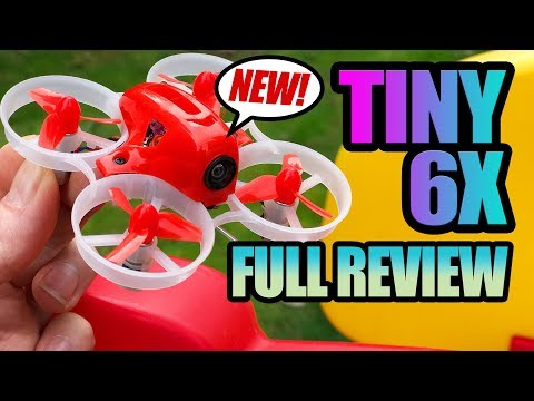 LDARC Tiny 6X Series - EASIEST Ready to Fly FPV Racer - Review, LOS, and Flight Test