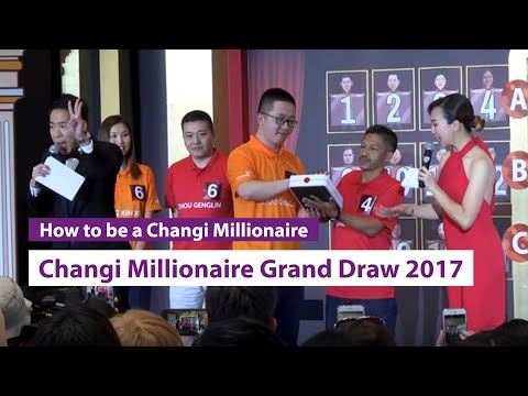 """Be a Changi Millionaire"" Grand Draw 2017 - Event Highlights"