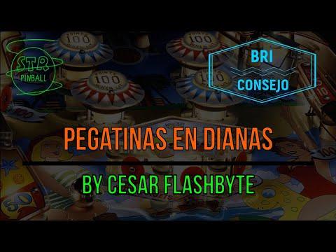 #12-BC Instalar Pegatinas en Dianas by Cesar Flashbyte