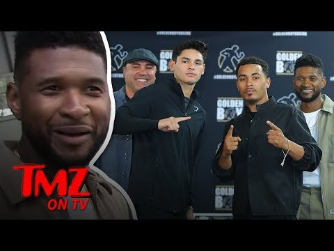 Is Usher A Boxing Promoter Now? | TMZ TV
