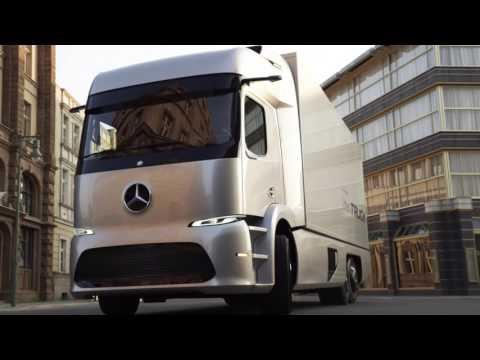El Mercedes Urban eTruck ya rueda