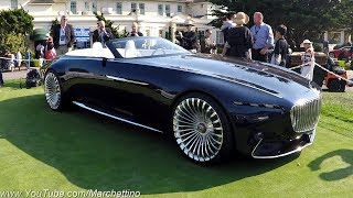 The Vision Mercedes-Maybach 6 Convertible is PERFECTION on Wheels!