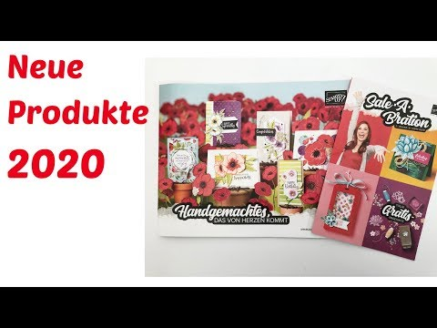 Neue Produkte 2020--Sale A Bration 2020--Stampin' Up! unboxing--Haul