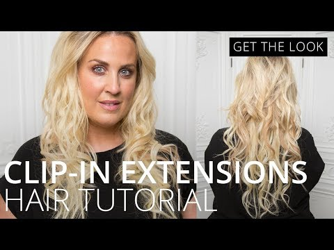 feelunique.com & Feel Unique Discount Code video: How to Use Clip in Hair Extensions | How To | Feelunique