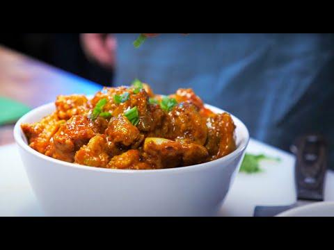 Индийская масляная курица карри | По мотивам обзоров