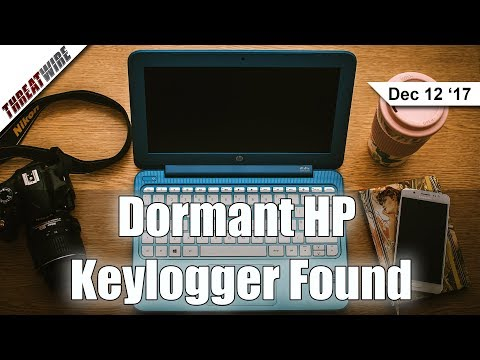 A Dormant HP Keylogger Found, Uber Pays Ransom - ThreatWire