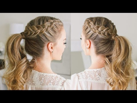 Double Dutch Braid Ponytail | Missy Sue