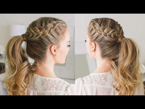 Double Dutch Braid Ponytail | Missy Sue