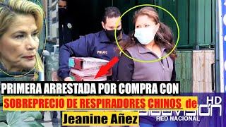 PRIMERA ARRESTADA POR COMPRA IRREGULAR Y CON SOBREPRECIO DE RESPIRADORES CHINOS DE AÑEZ En Bolivia