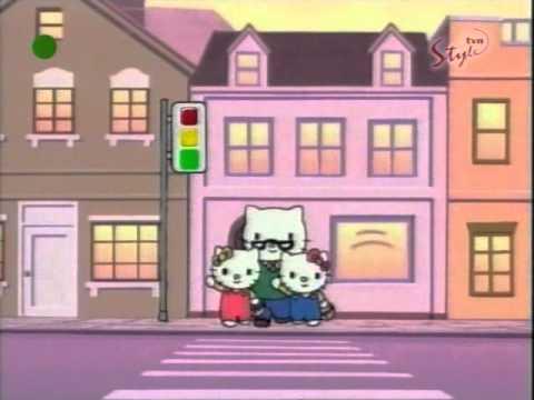 Hello Kitty - odcinek 16 B bajki - Przechadzka po mieście PL