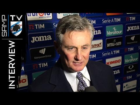 Sampdoria-Bologna, Pradè: «La vittoria della pazienza»