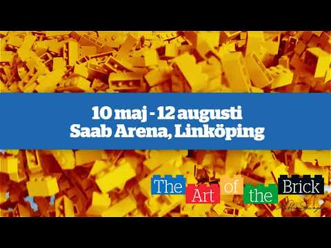 The Art of the Brick | Saab Arena, Linköping