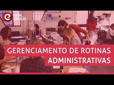 Gerenciamento de Rotinas Administrativas | Curso