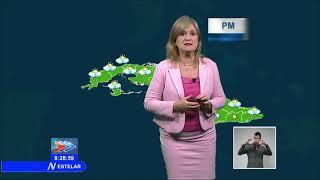 Actualización meteorológica en Cuba