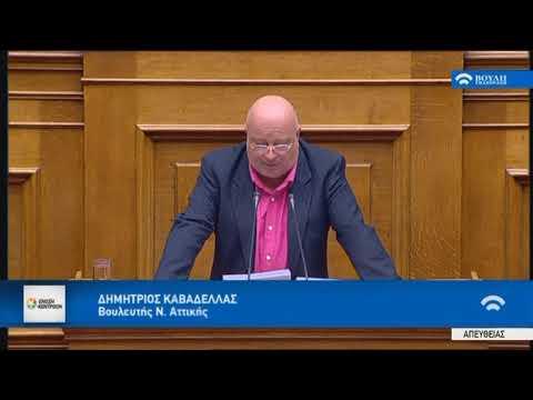 Δ. Καβαδέλλας/Ολομέλεια,Βουλή/12-12-2017