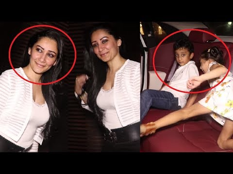 Sanjay Dutt's Wife Manyata Dutt Birthday Party With Kids and Special Guests