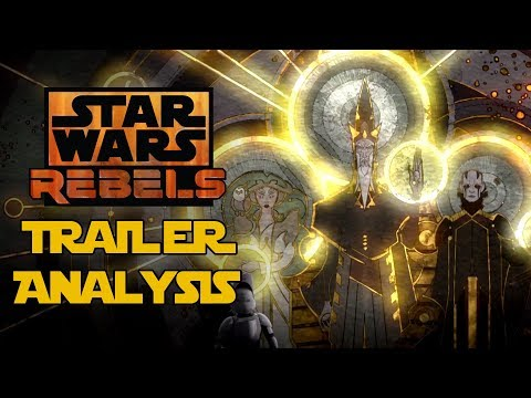 Star Wars Rebels Mid-Season 4 Trailer Breakdown and Analysis