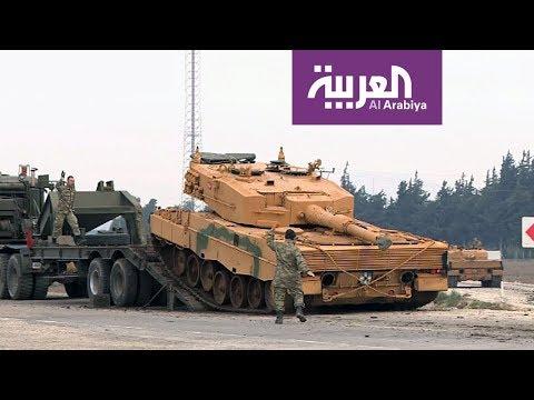 العربية تواكب عملية غصن الزيتون التركية