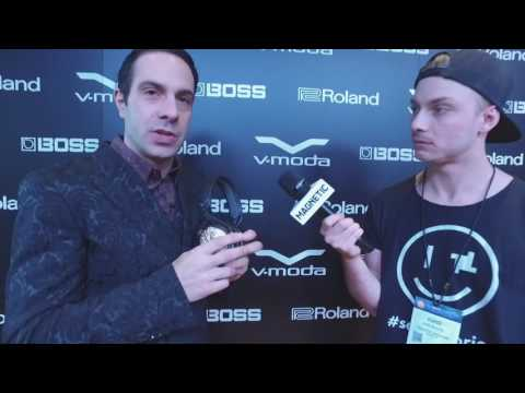 NAMM 2017 - Val Kolton of V-MODA Interview