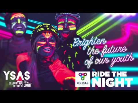 Ride the Night 2017 - meet Cara from YSAS