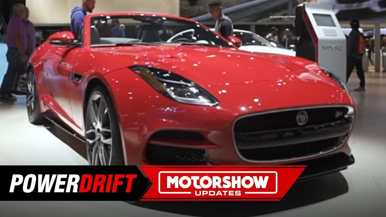 2019 జాగ్వార్ ఎఫ్ టైప్ ఆర్ : looks like ఏ million bucks : 2018 la auto show : powedrift