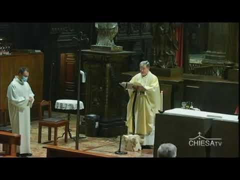 Giovedì 22 ottobre 2020 ore 8,00 - Celebrazione dal Duomo di Milano - ChiesaTV Canale 195