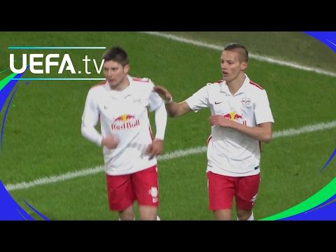 UEFA Youth League highlights: Salzburg v Man. City