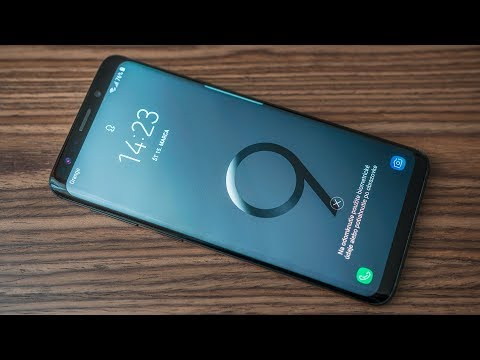 Samsung Galaxy S9 Review + Drop Test (Unintentional)