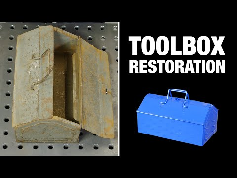 Rusty Toolbox Restoration (60 years old) by Norton
