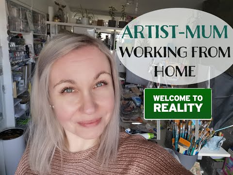 TRUTH about my Day – WHAT YOU DON'T SEE – Home Daily Artist Studio Vlog ♡ Maremi's Small Art ♡