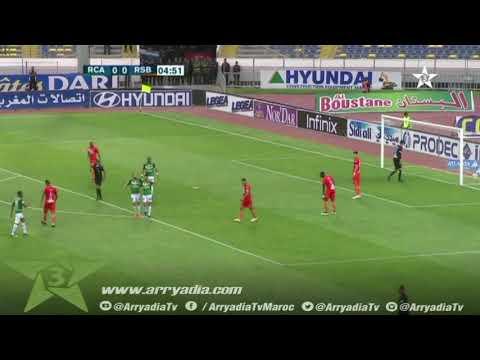 الرجاء البيضاوي 1-0 نهضة بركان هدف محمود بنحليب