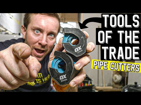 TOOLS OF THE TRADE - Plumbing Tools Must Have - Ox Tools Ratchet Pipe Cutter