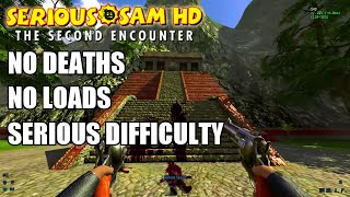 Serious Sam Fusion: TSE, No Deaths/No Loads, Serious Difficulty