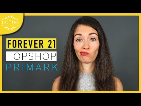 """Video: Forever21 & Topshop are bankrupt: is it the end of """"Fast Fashion""""? ǀ Justine Leconte"""