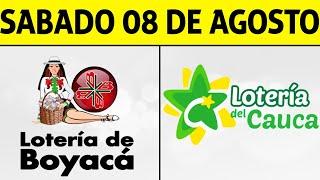 Resultados Lotería de BOYACÁ y CAUCA Sábado 8 de Agosto de 2020 | PREMIO MAYOR ????????????