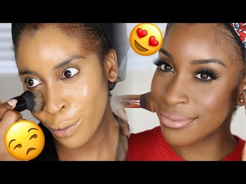 Full Coverage CAKE FREE Foundation Tutorial! | Jackie Aina