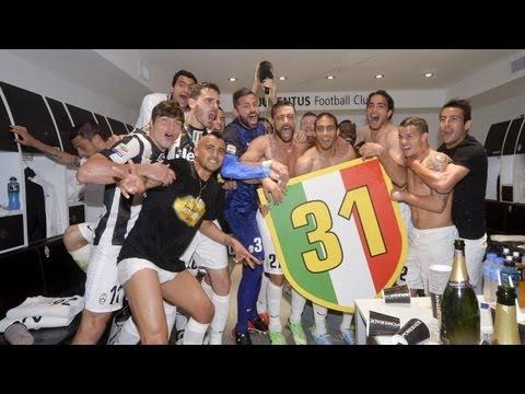VIDEO: Kwadwo Asamoah and Juve teammates celebrate Serie A title