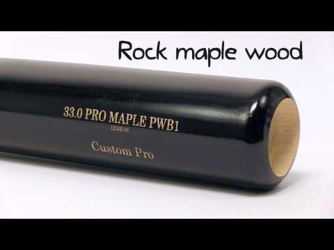 Old Hickory Bat Co. Custom Pro Maple Wood Bat: PWB1 Adult