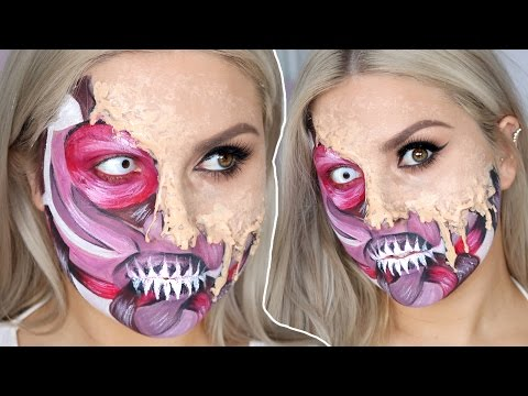 Melting Skin & Exposed Muscles ? Halloween SFX Tutorial Gore