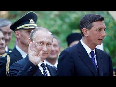 Poutine en Slovénie : une visite politique derrière les commémorations de la Première guerre…