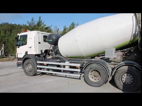 Scania P360L Betongbil -11 Reg.nr: CJX213