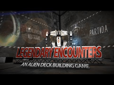Yo Tenía Un Juego De Mesa TV #13: Tutorial y Partida a Legendary Encounters de Alien