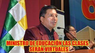 CONFERENCIA DE PRENSA DEL MINISTRO DE EDUCACIÓN ADRIAN QUELCA..