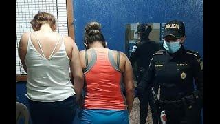 Dos mujeres fueron detenidas tras arrollar a agentes de la PNC